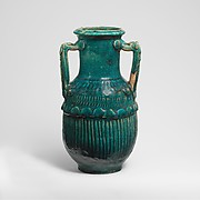 Terracotta amphora (two-handled jar)