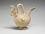 Terracotta zoomorphic askos (vessel)