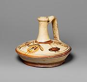 Terracotta lagynos (oil flask)