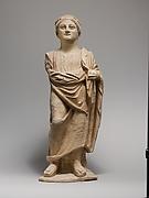 Limestone statue of a male votary