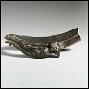 Rim fragment of a large terracotta vessel