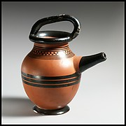 Terracotta feeding bottle