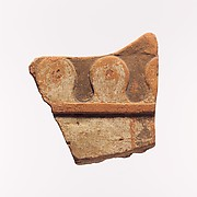 Fragment of a terracotta architectural tile