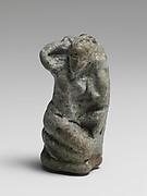 Faience statuette of Aphrodite