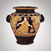 Terracotta stamnos