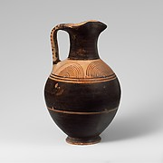 Terracotta oinochoe (jug)