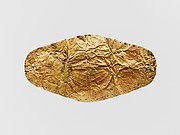 Gold leaf frontlet (band for forehead)