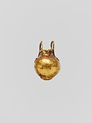 Gold pendant in the form of a vase