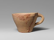 Terracotta one-handled cup