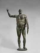 Bronze statue of the emperor Trebonianus Gallus