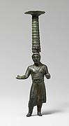 Shaft of a bronze thymiaterion (incense burner)