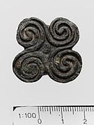 Steatite seal with bridge handle