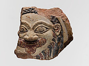 Terracotta antefix with the head of Medusa