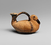 Terracotta askos in the form of a duck