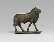 Bronze statuette of a ram