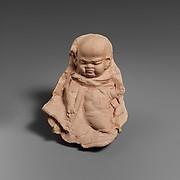 Terracotta mold of a grotesque figure