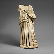 Limestone statue of Hera or Demeter (?)