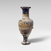 Glass unguentarium (perfume bottle)