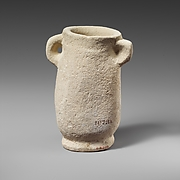 Small chalk amphora (jar)