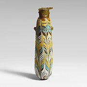 Glass alabastron (perfume bottle)