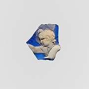 Cameo glass fragment