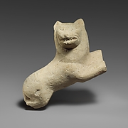 Limestone lion probably from a statue of Herakles