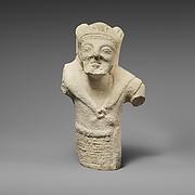 Limestone statuette of bearded Herakles