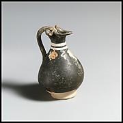 Terracotta miniature oinochoe (jug)