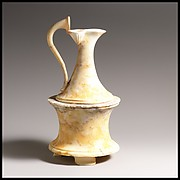 Marble vase in the form a of a pyxis (box) surmounted by an oinochoe (jug)