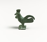 Bronze statuette of a rooster