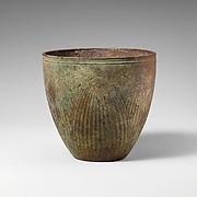 Bronze beaker