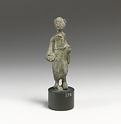 Statuette of a man with vessel