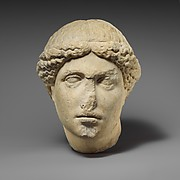 Marble head of the so-called Barberini Suppliant