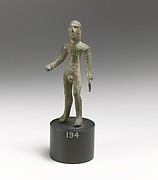 Statuette of a man