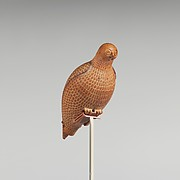 Terracotta vase in the form of a bird