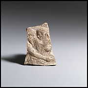 Terracotta fragment of a votive relief