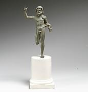 Bronze statuette of Neptune