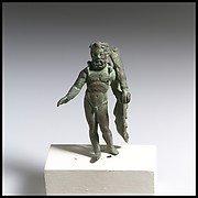 Bronze statuette of Hercules