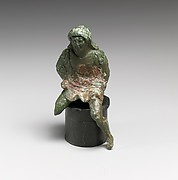 Statuette of a horseman