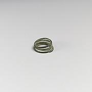 Two bronze spirals