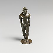 Statuette of a youth