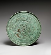 Bronze circular mirror