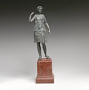 Bronze statuette of Artemis