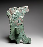 Bronze and iron fittings from a cart or chariot