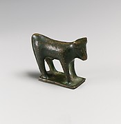 Bronze statuette of a bull