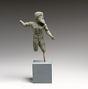 Bronze statuette of Zeus or Poseidon