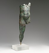 Bronze statuette of a man
