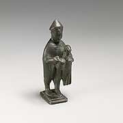 Bronze statuette of a shepherd