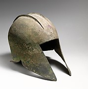 Bronze helmet of Illyrian type