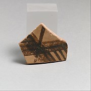 Terracotta vessel fragment